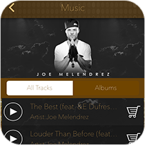App Music Player Feature from MobileAppsOnly.com