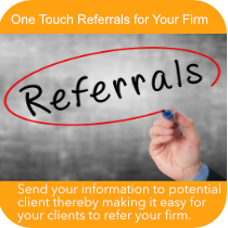 One Touch Referrals from MobileAppsOnly.com