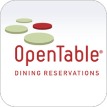 Mobile app OpenTable from MobileAppsOnly.com