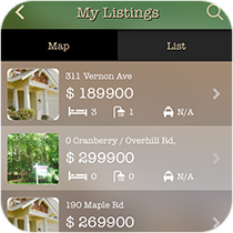 App Real Estate Listing from MobileAppsOnly.com